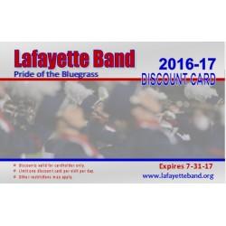 2016-2017 Discount Card